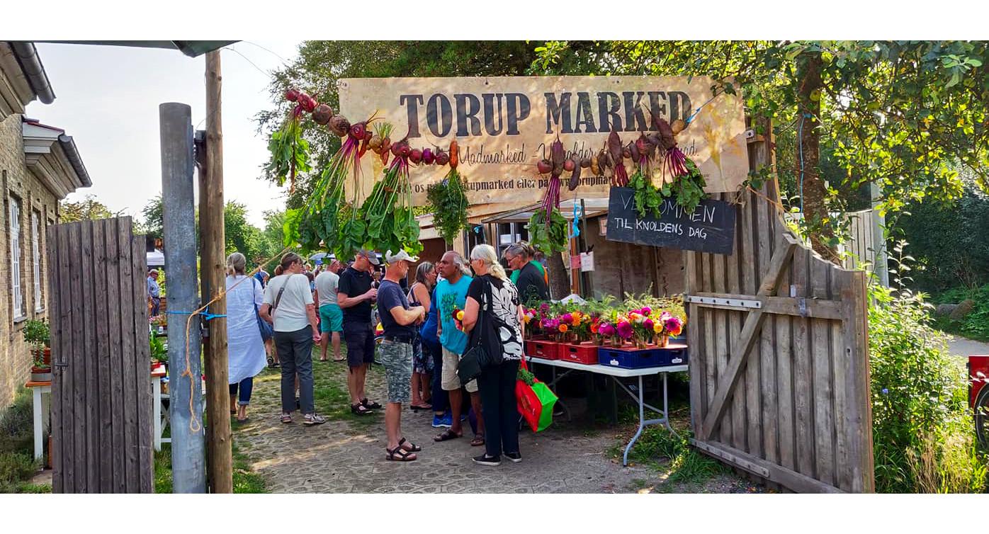 Torup har de sidste 30 år fokuseret på økologi, bæredygtighed og genanvendelse af ressourcer. Foto: Torup Marked
