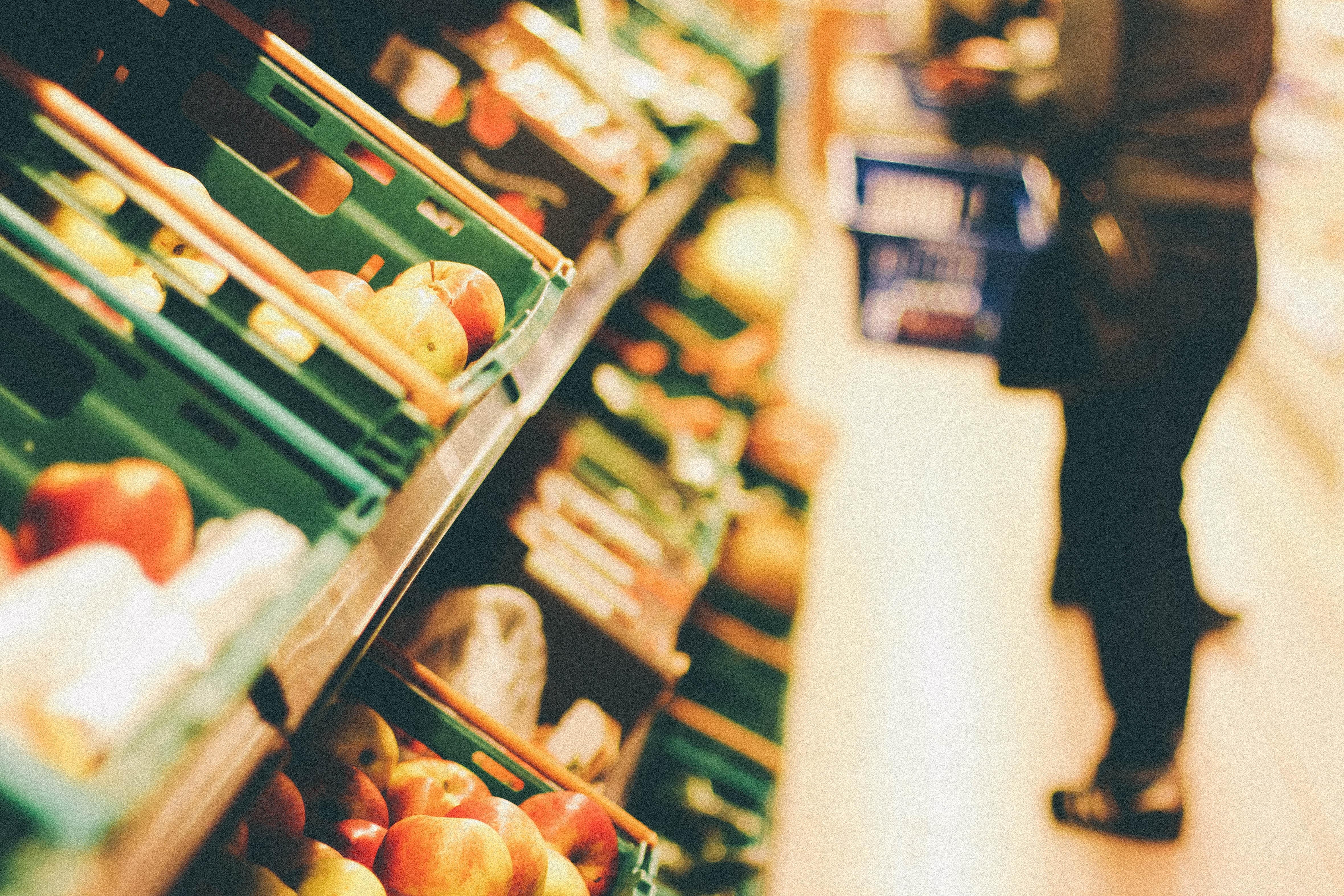 grøntsager supermarked forbruger
