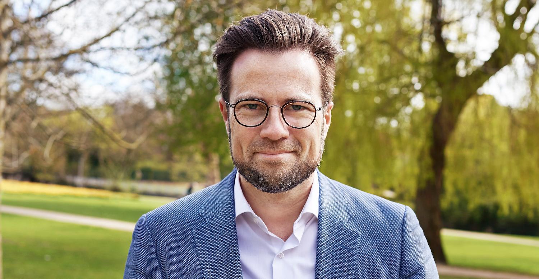 Borgmester Peter Rahbæk Juel vil hjælpe de unge i Odense med at føre deres Verdensmålsidéer ud i livet. Foto: Odense Kommune