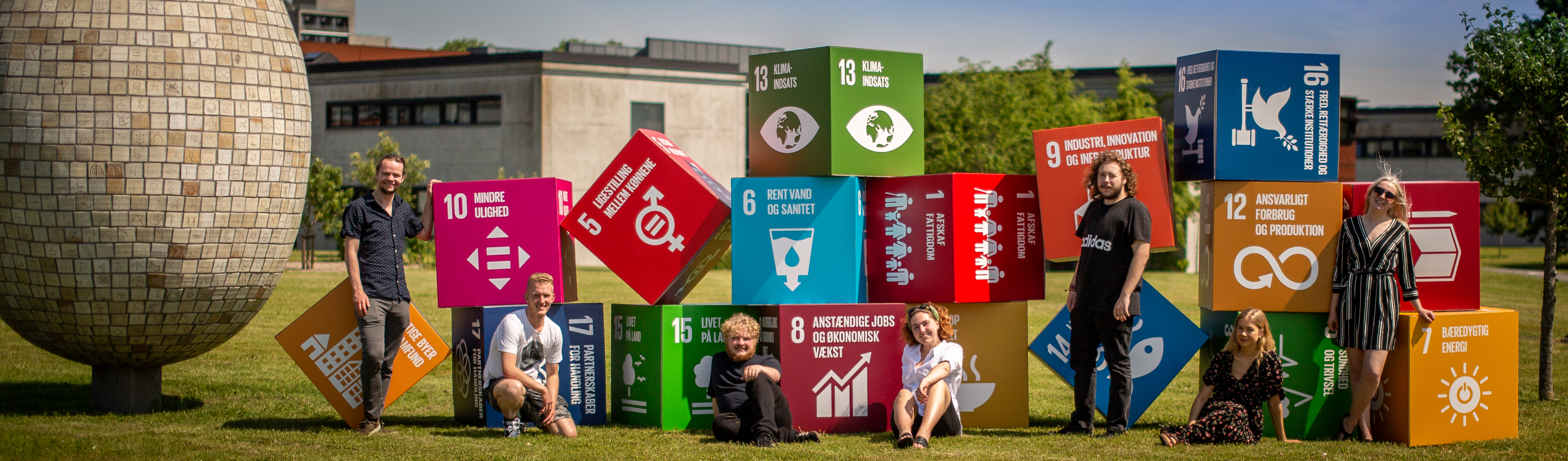 SDU vil være det første bæredygtige universitet i Danmark. Foto: SDU