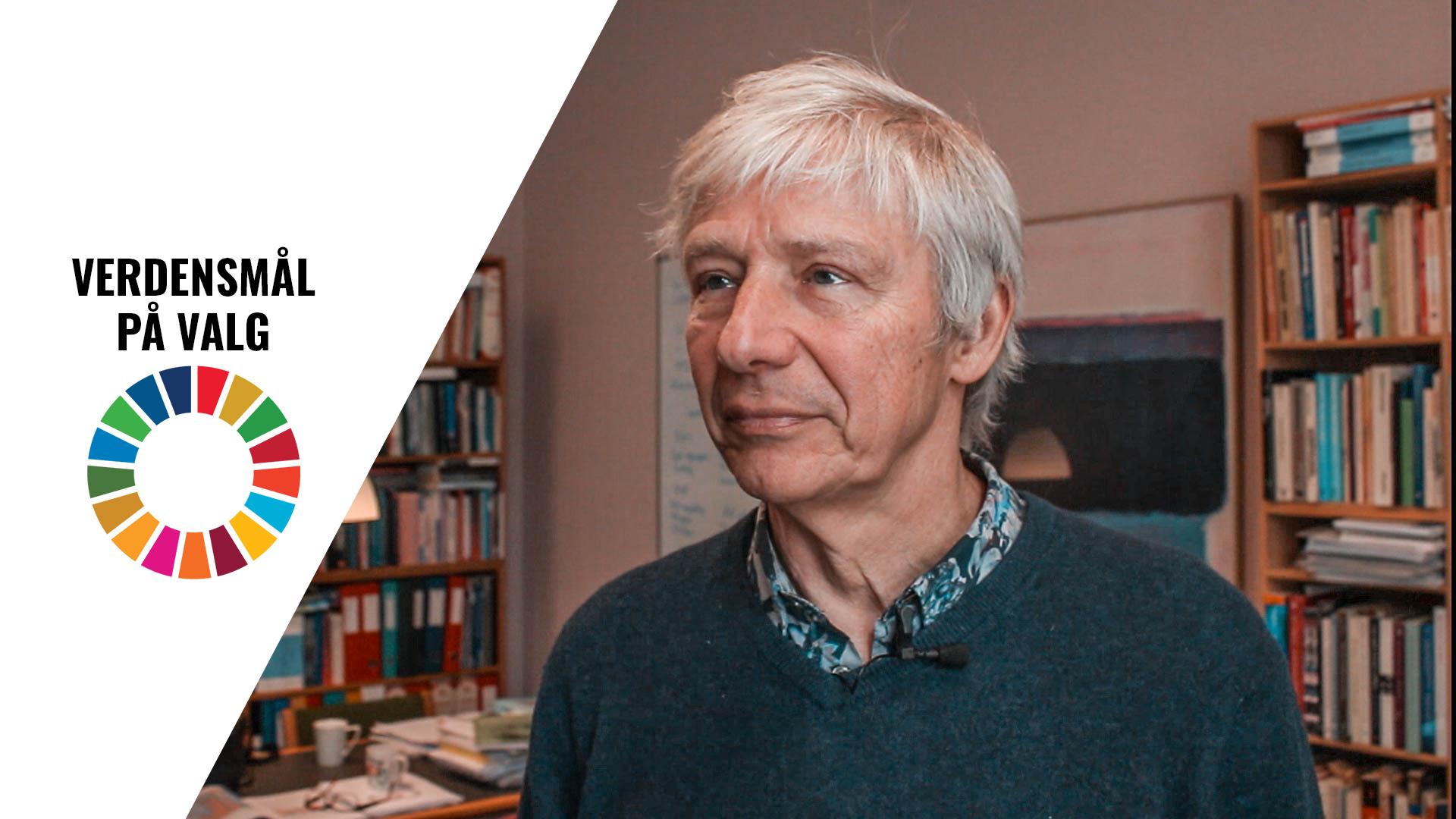 Professor Jens Villiam Hoff fra Københavns Universitet mener, at klimaet bliver en central del af valgkampen. Foto: Lauge Eilsøe-Madsen