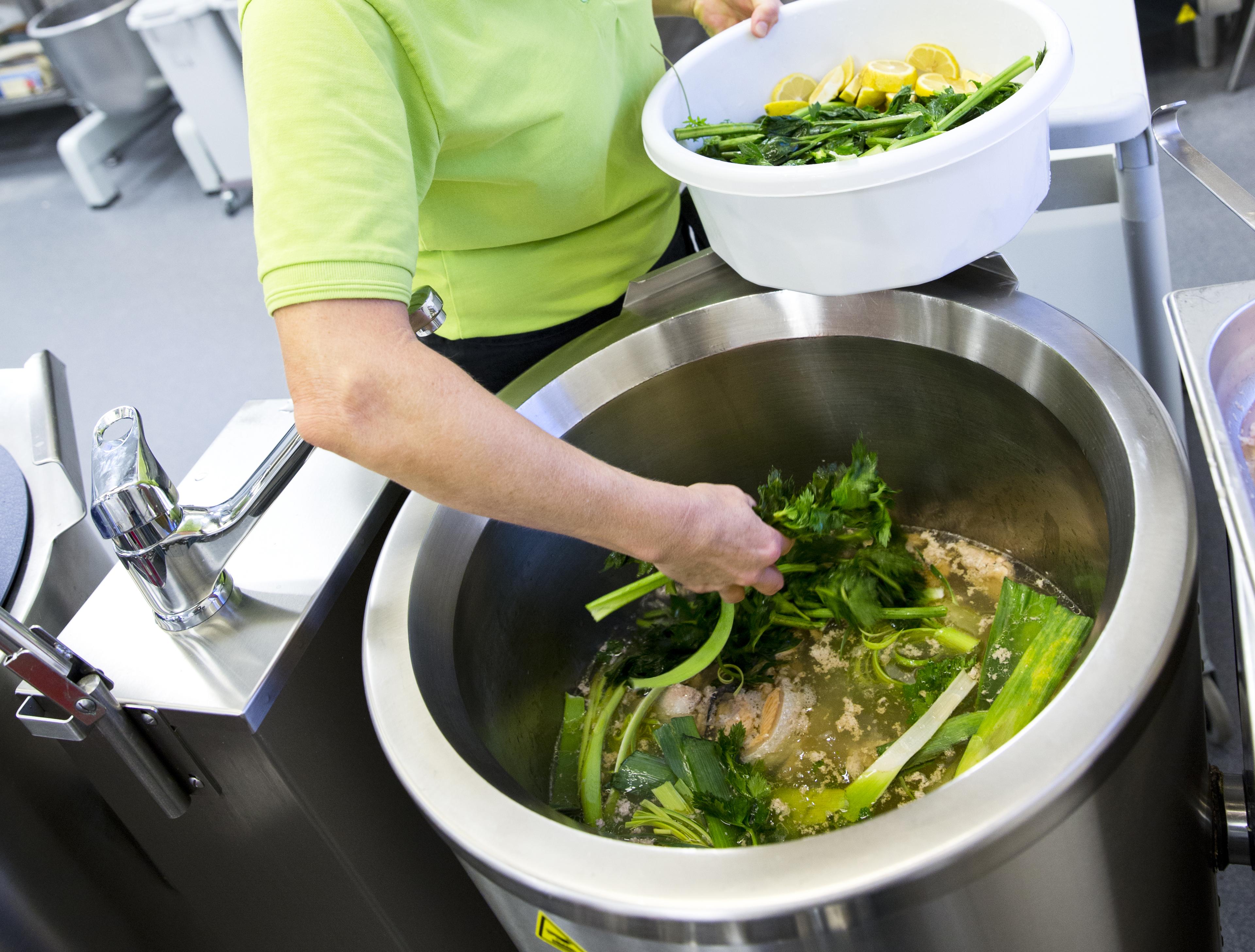 Økologiske varer giver adgang til det eftertragtede Økologiske Spisemærke i mange professionelle køkkener. Foto: Økologisk Landsforening