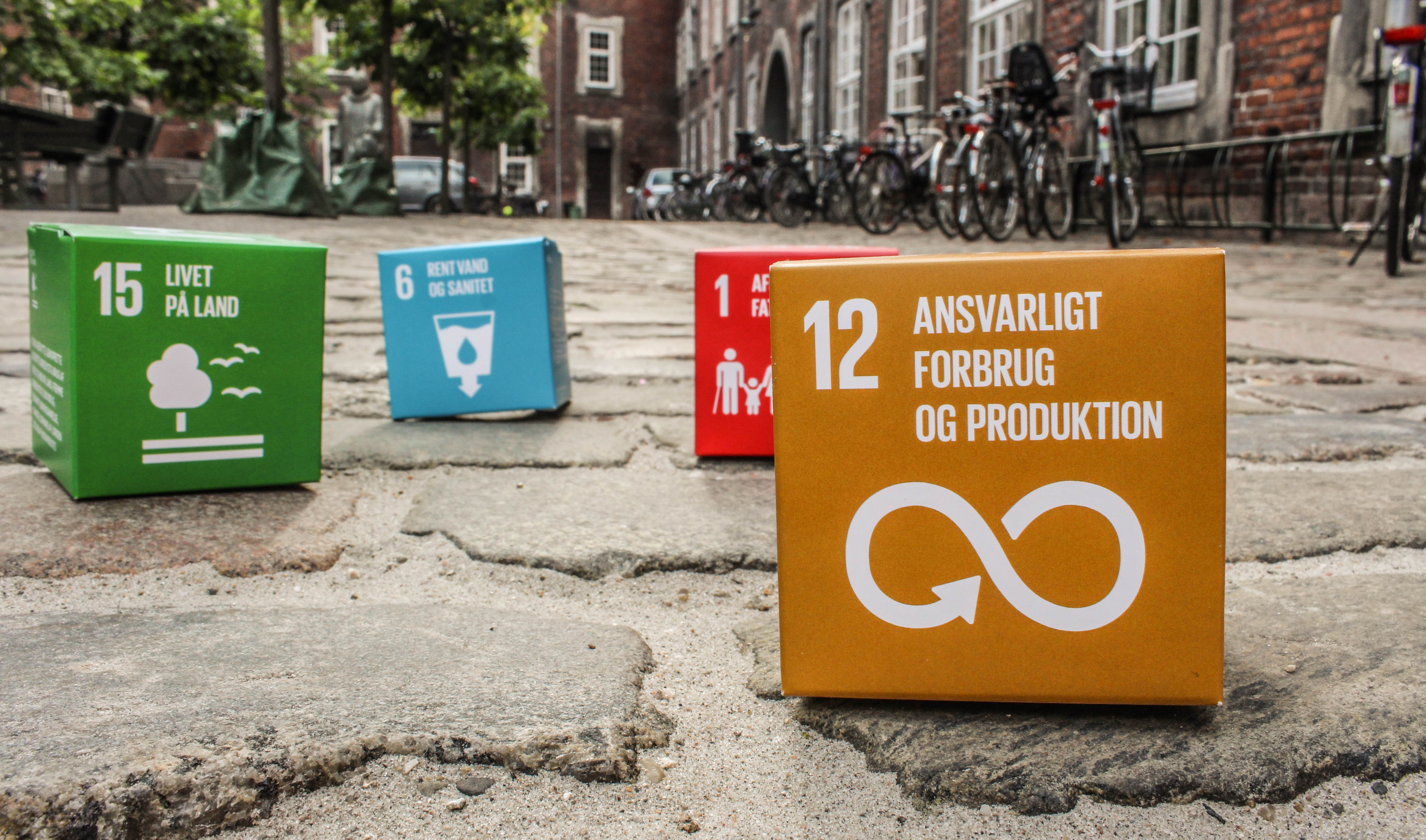 Odense Kommune har netop belønnet virksomheden Plus Pack A/S for deres arbejde med Verdensmål 12. Foto: Lauge Eilsøe-Madsen